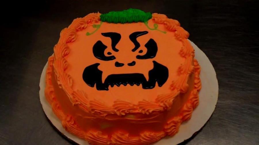 Halloween Cake Scary Shivers Ice Cream