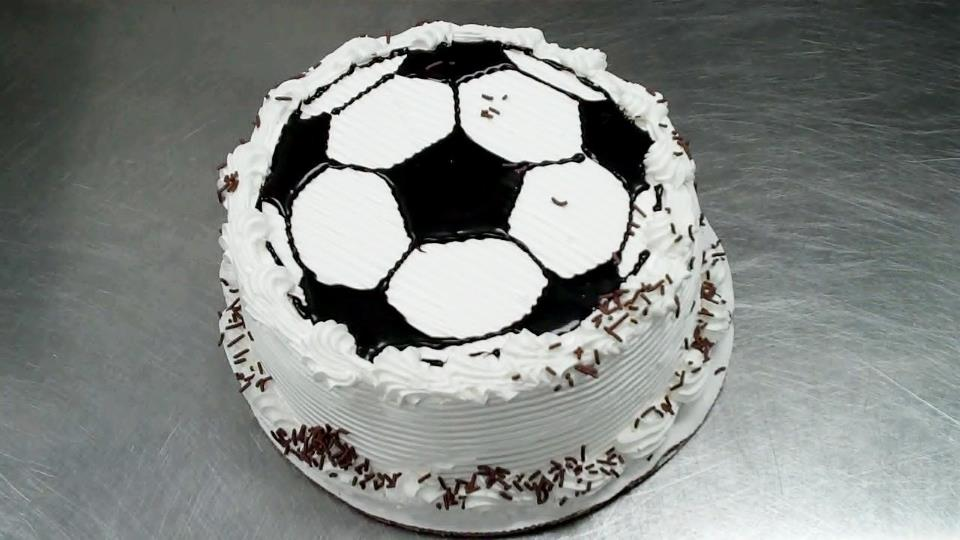 Soccer Cake By Shivers Ice Cream